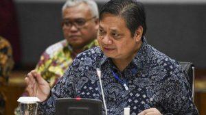 Menteri Airlangga Janjikan Anggaran Khusus untuk Daerah yang Berhasil Atasi Covid-19
