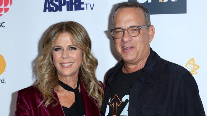 Seleb Hollywood Tom Hanks dan Istri, Rita Wilson, Dikabarkan Positif Virus Corona COVID-19